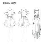 棉布绣花系列设计