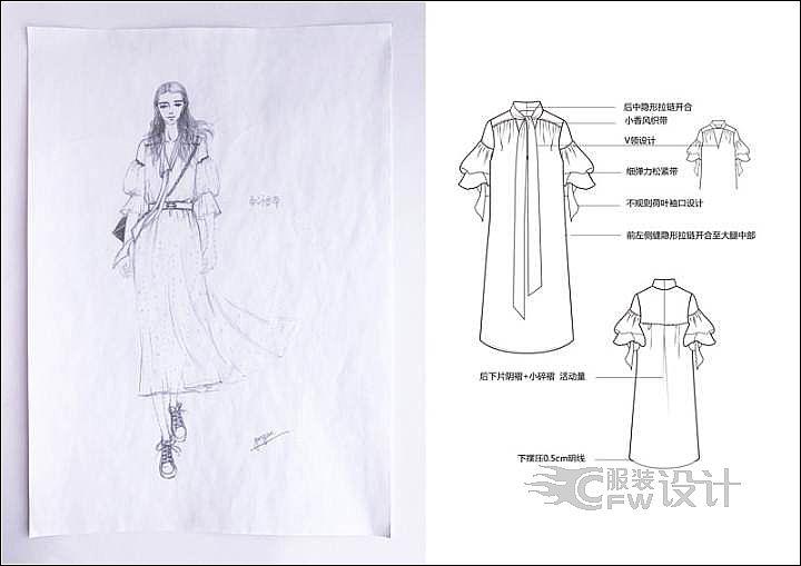 衬衫裙图片