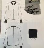 黑色蕾丝衬衫