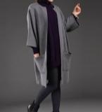 双面羊绒外套