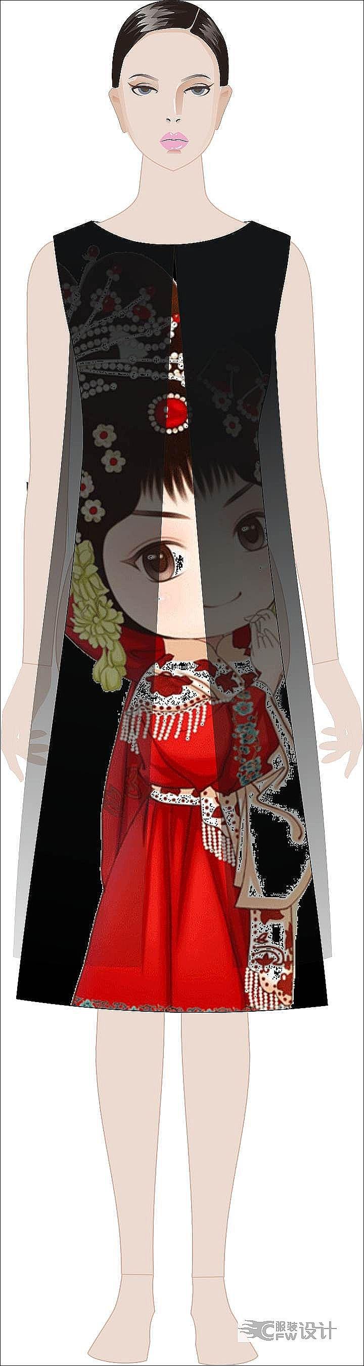红楼梦-女装设计-服装设计