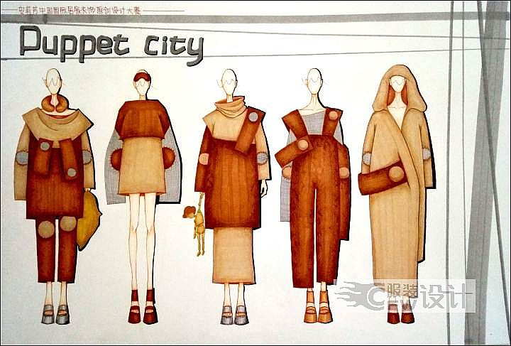 Puppec city作品-Puppec city款式图