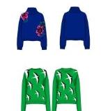 畲族羊毛衫设计项目作品