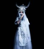 民族服饰与婚纱的结合