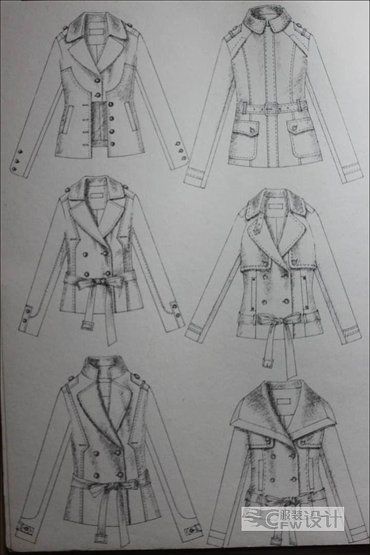 欧美风格设计-女装设计-服装设计