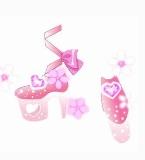 粉色红宝石鞋
