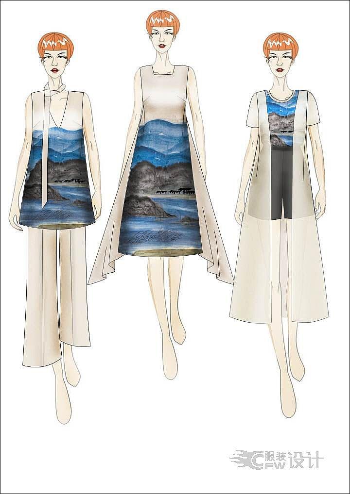 ps设计图-女装设计-服装设计