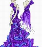 紫罗兰夜晚服