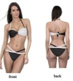 黑白爆款泳衣设计