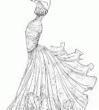 纱帘吊兰裙