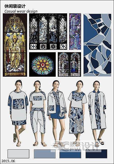 女装休闲装设计-女装设计-服装设计