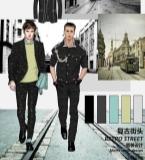 男装设计――复古街头