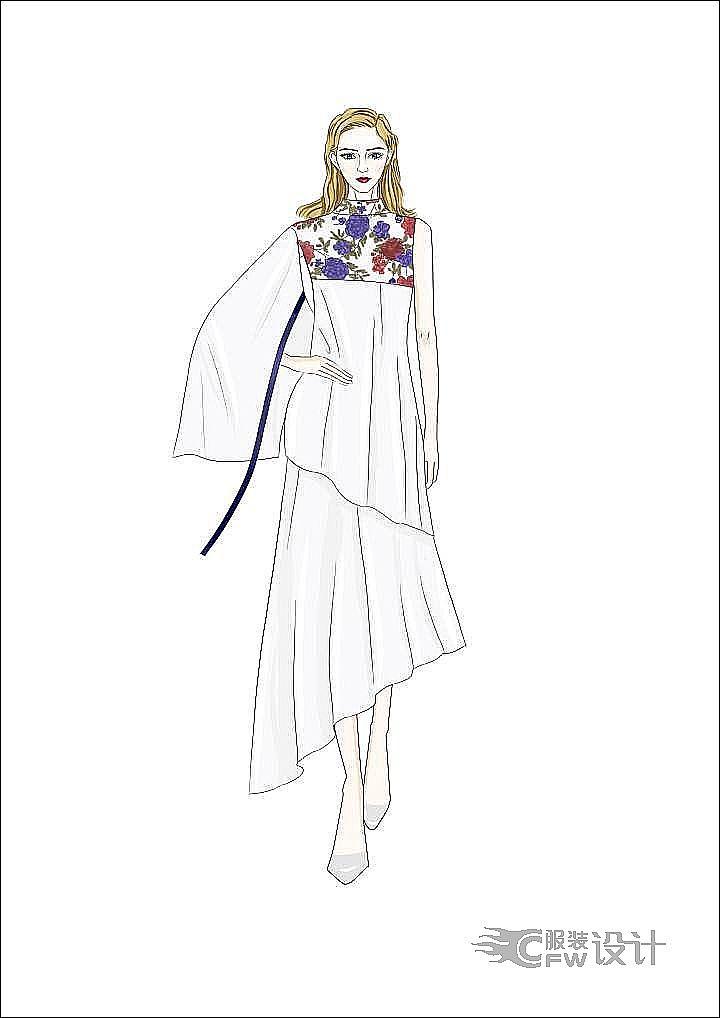 古风今韵-女装设计-服装设计