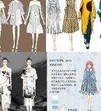 效果图,制版图及成衣