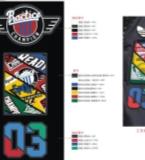 棒球夹克外套图案设计