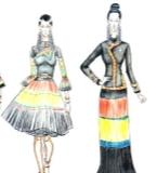 彝族风情系列设计