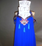 杨幂出席2012年时尚盛典所穿的小礼服,出自于我的设计