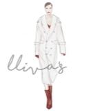 Lliva手绘作品-时装1
