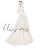 Lliva手绘作品-婚纱1