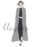 Lliva手绘作品-时装2
