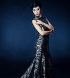 旗袍 创意时装和各种效果图