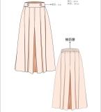 2018春夏流行裙裤