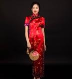 中国风礼服