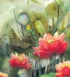 中国风定位花型