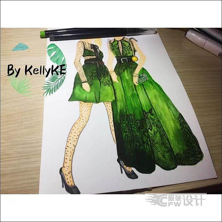 绿野仙踪系列作品-绿野仙踪系列款式图