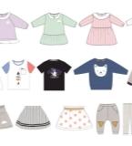 婴童装款式图