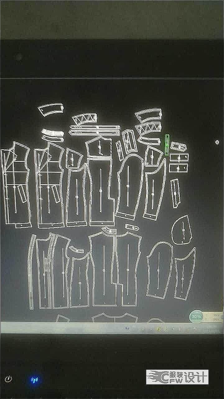 男装时尚风衣作品-男装时尚风衣款式图