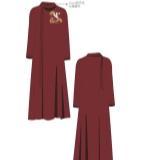 中国风民族风东方元素时尚连衣裙