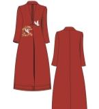 中国风民族风唐装长款流行外套
