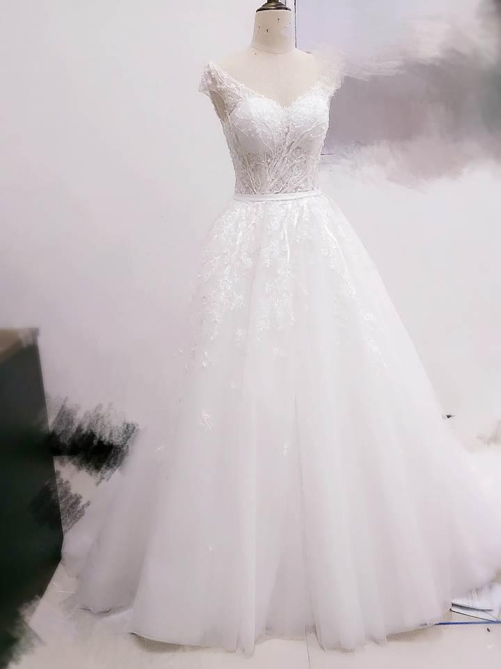 婚纱作品-婚纱款式图