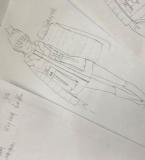 薄棉款式,羽绒服的成衣局部图