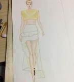 手绘人体与服装