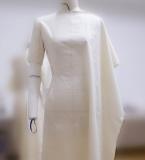 插角袖旗袍连衣裙