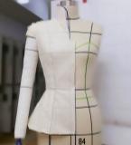 Dior五开身立领连肩袖上衣