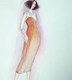 手绘服装画3