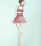 手绘服装画4