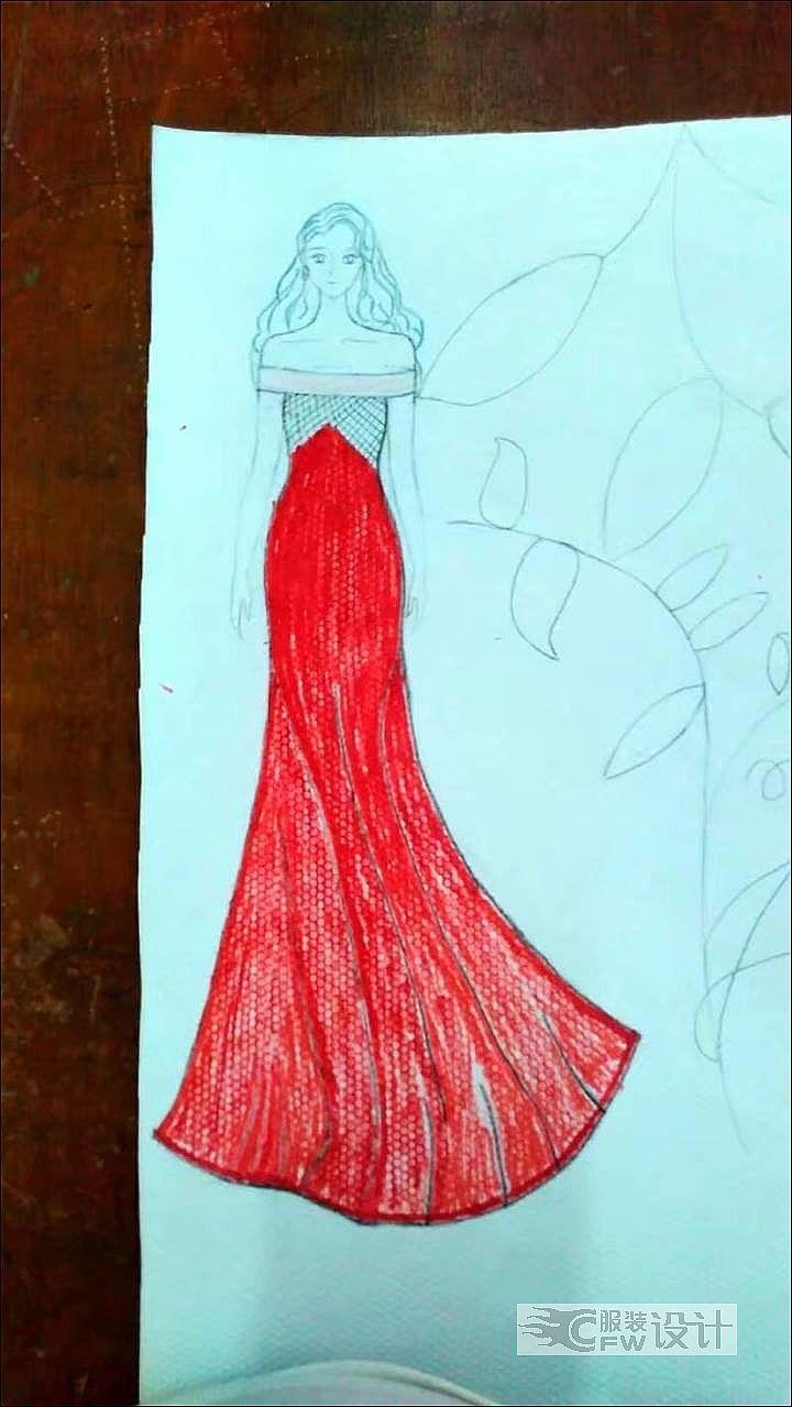 绯赤作品-绯赤款式图