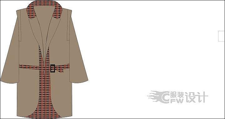 西服大衣作品-西服大衣款式图