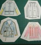 服装设计课程款式图训练4
