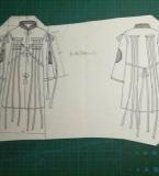 服装设计课程款式图训练2