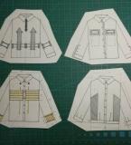 服装设计课程款式图训练3