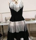 连衣裙、立体裁剪、手绘效果图