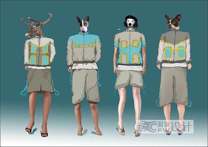 第三届中国校服设计大赛图片