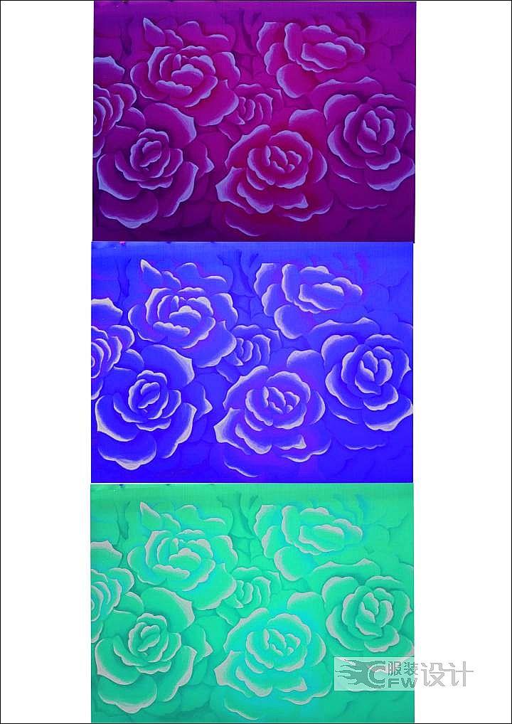 玫瑰花图案作品-玫瑰花图案款式图