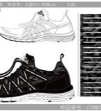 以往设计作品以及做出大货的鞋子