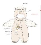彩棉哈衣设计